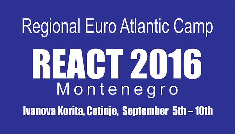 REACT 2016 Montenegro